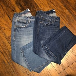 2 PAIR OF KENSIE JEANS SIZE 6 sold together